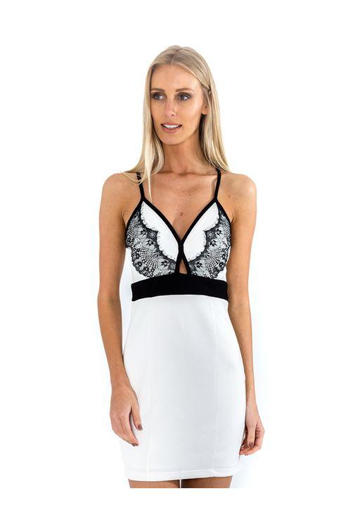 Vestido-alca-renda-busto-Branca-preta-P
