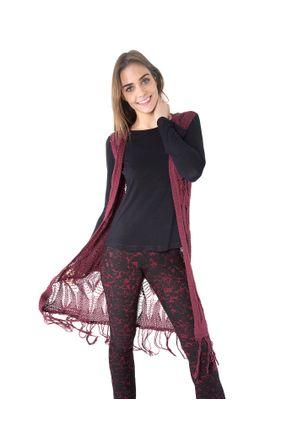 Colete-com-franjas-tricot-Vinho-P