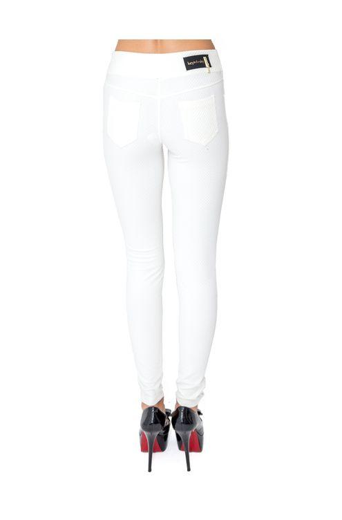 Calca-skinny-piquet-Off-white-G