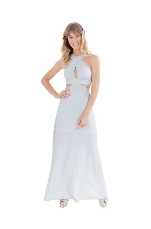 Vestido-decote-transpassado-lurex-Prata-M