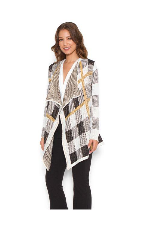 Tricot-kimono-xadrez-Off-white-preta