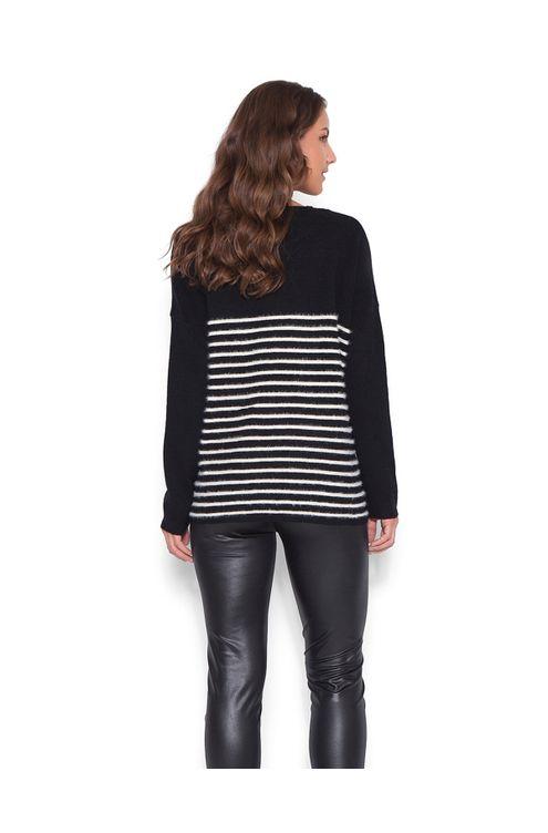 Blusa-tricot-decote-vazado-Preta