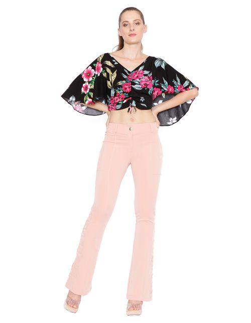 Blusa-cropped-com-ajuste-preto-rosa