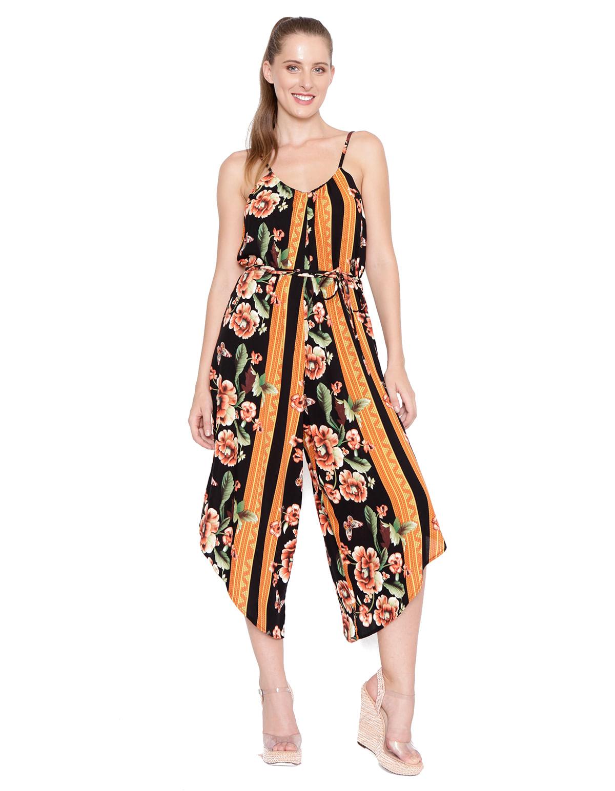 beac8d992 Macacao pantacourt c. faixa preto/laranja - LucyintheSky