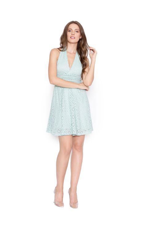 Vestido-curto-transpassado-renda-verde-claro