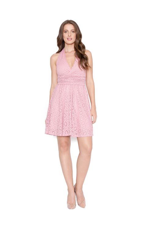 Vestido-curto-transpassado-renda-rose