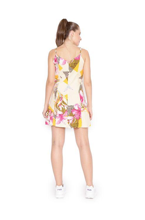 Vestido-curto-com-botoes-amarelo-rosa