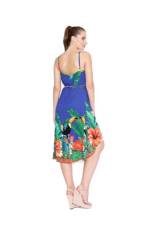 Vestido-midi-transpassado-azul-verde