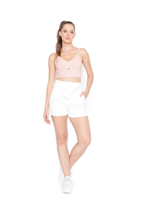 Short-clochard-off-white-