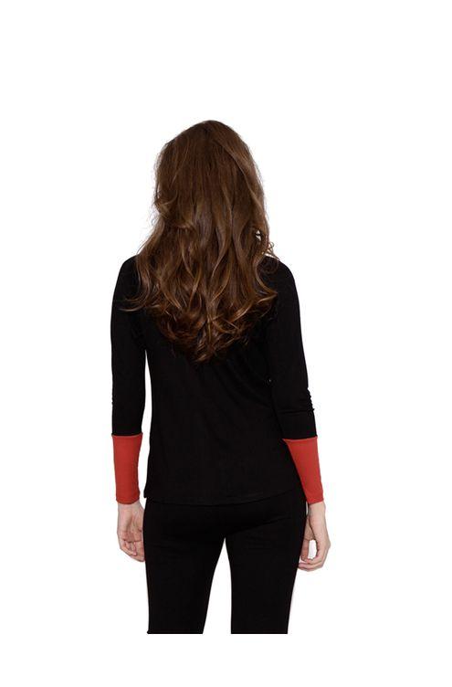 Blusa-manga-longa-bicolor-preto-P