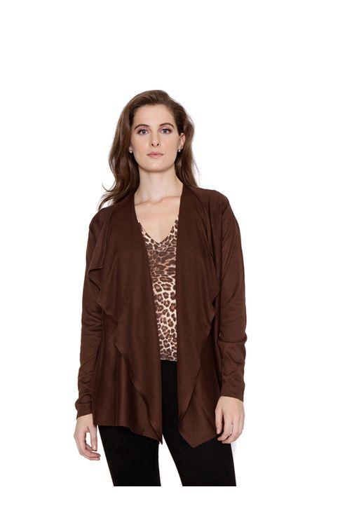 Casaco-kimono-tricot-marrom