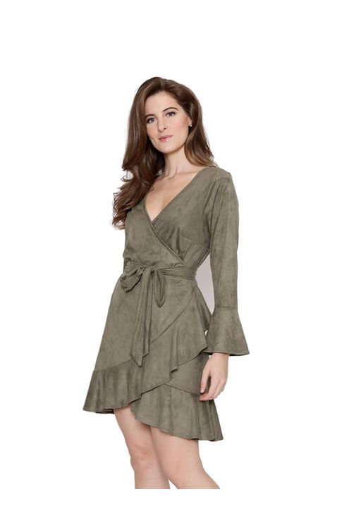 Vestido-cachecour-manga-sino-oliva