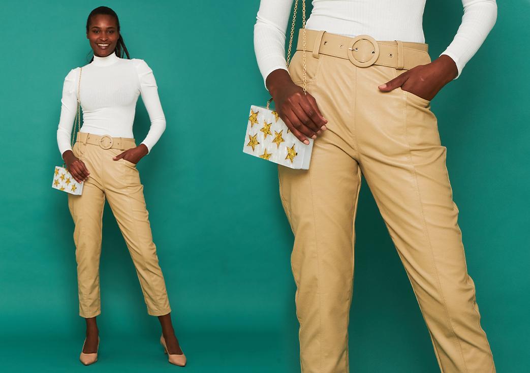 calças tamanho desk