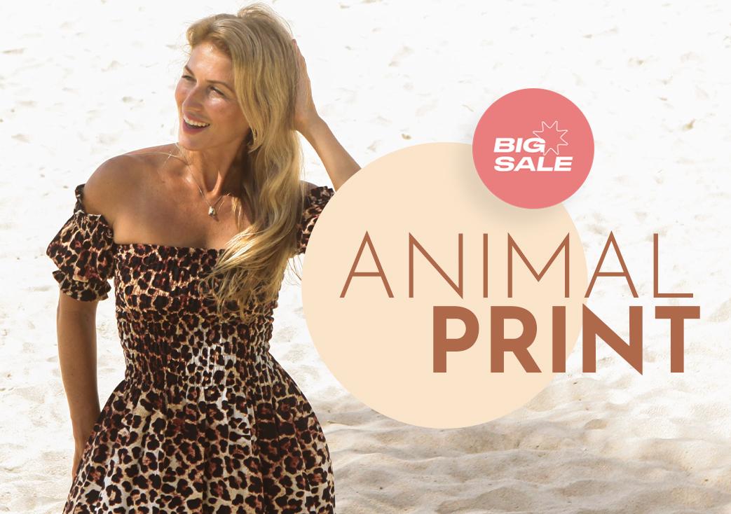 animal print desk