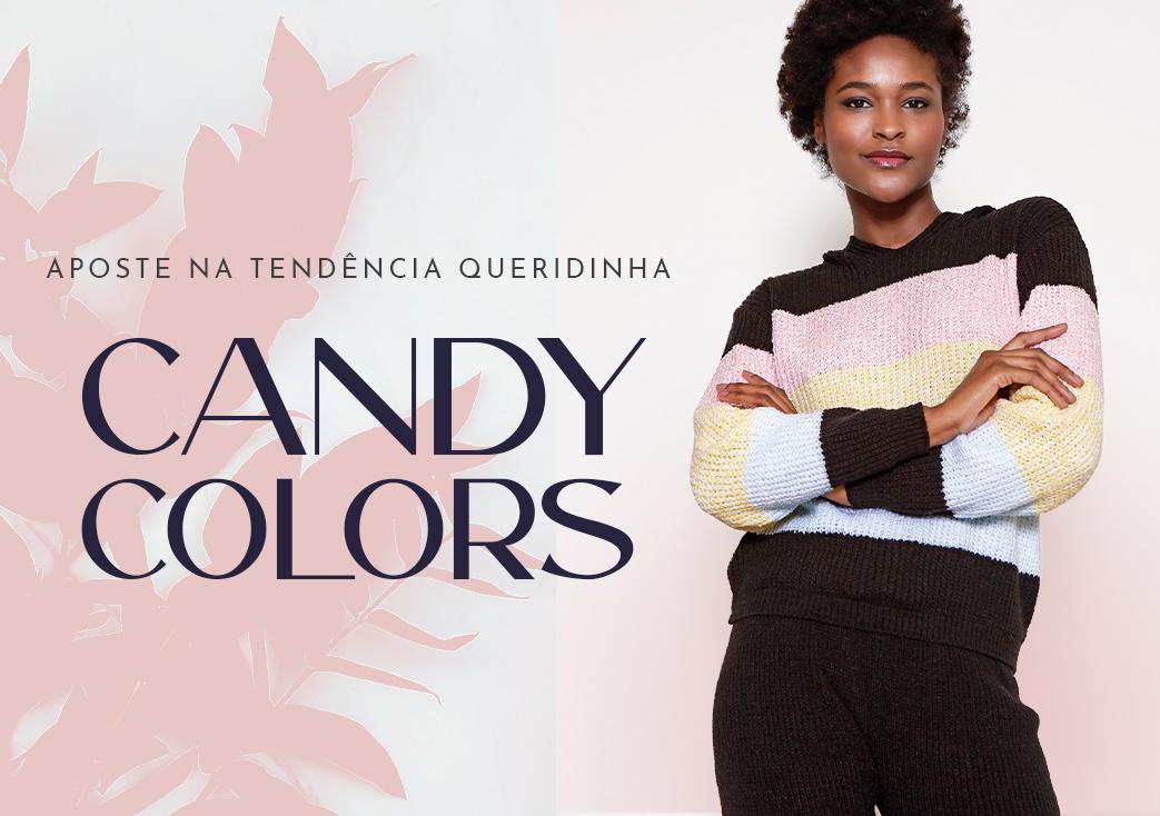 candy colours desk